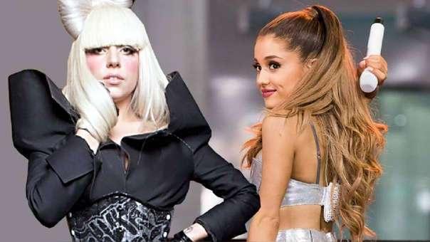 ¡BOMBA! Ariana Grande y Lady Gaga se unieron para lanzar una canción