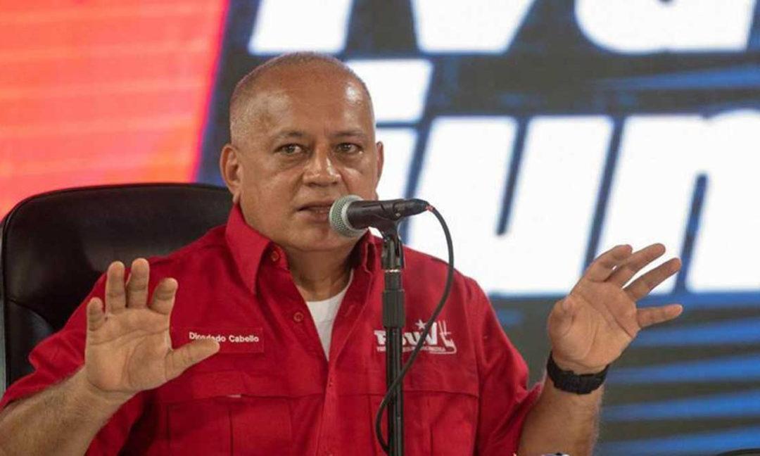 Diosdado Cabello: creo que primero sabremos los resultados de Venezuela que los de EEUU