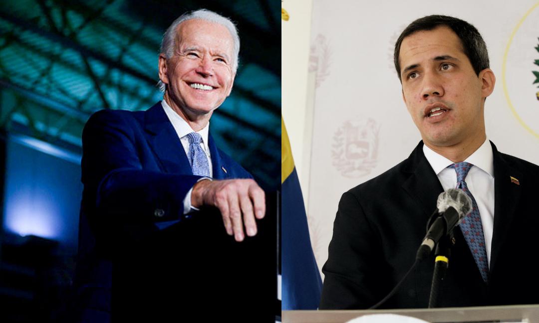 ¿Precipitado Guaidó al felicitar a Joe Biden como el nuevo presidente?