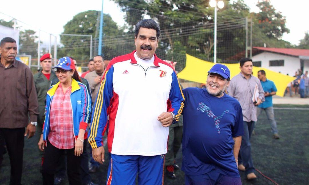 La despedida de Maduro a su hermano Maradona