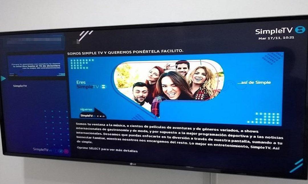 Esto es lo que responde SimpleTV sobre las tarifas y el retraso en la activación de sus planes