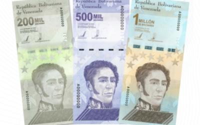 BCV chavista anunció ampliación del cono monetario con tres nuevos billetes (VIDEO)