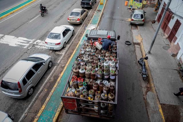 Claves de la escasez de gas doméstico en Venezuela (Fotos)