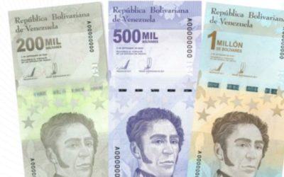 Detalles de los nuevos billetes del cono monetario trastocado por la hiperinflación