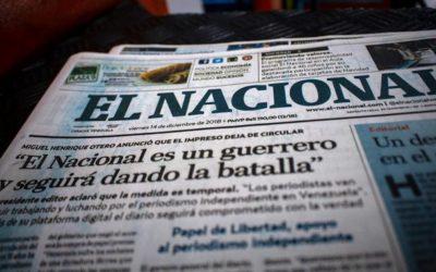 """CNP rechaza """"persecución"""" judicial contra El Nacional que lo obliga a pagarle una millonada a Cabello"""