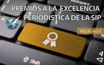 Prodavinci gana Premio a la Excelencia Periodística de la SIP en crónica y recibe dos menciones honoríficas